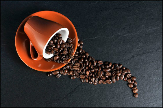 kaffee tasse bohnen form ng 564